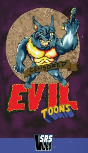Evil Toons Book Box Release Leftover VHS