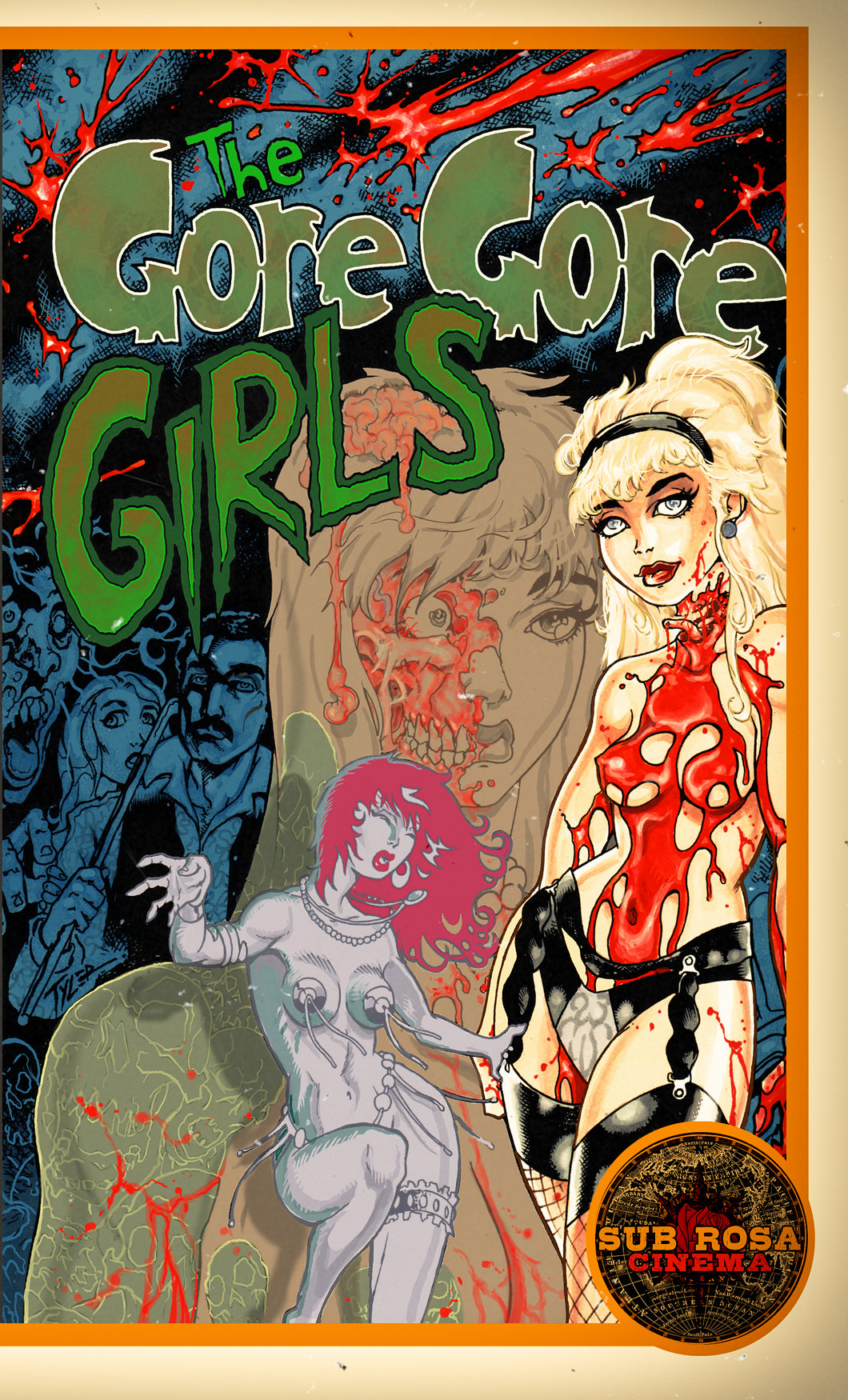 Gore Gore Girls Clam Shell VHS+