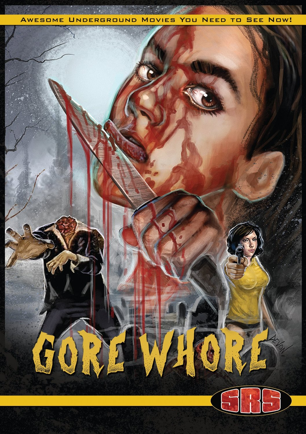Gore Whore VHS+