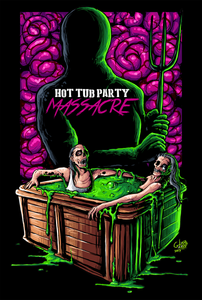 Hot Tub Party Massacre VHS
