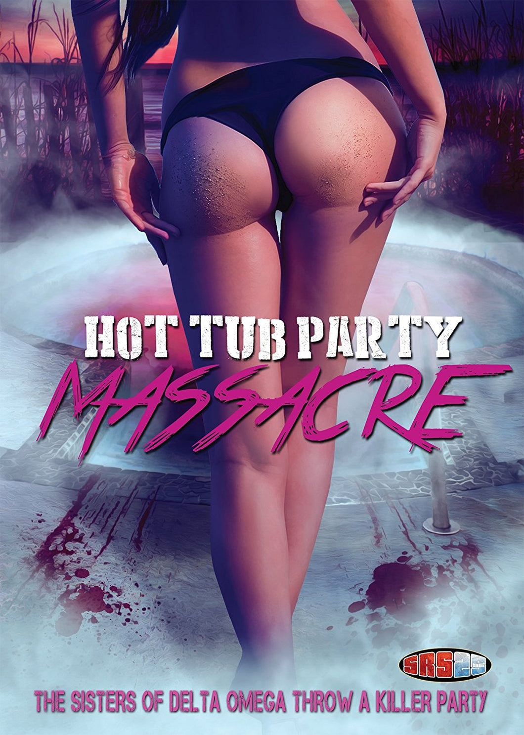 Hot Tub Party Massacre DVD