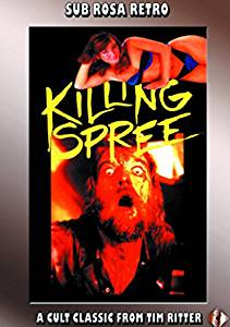 Killing Spree Original Release DVD