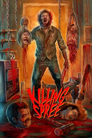 Killing Spree Blu-Ray/DVD