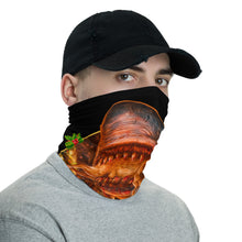 House Shark Christmas Neck Gaiter