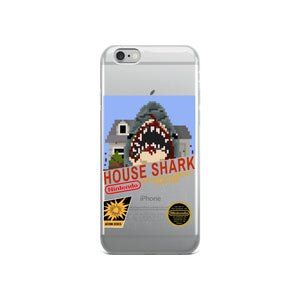 House Shark 8-Bit iPhone Case