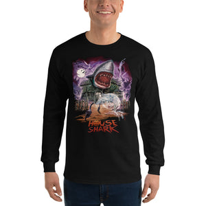 House Shark Halloween Long Sleeve T-Shirt