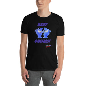 Bad CGI Sharks Cartoon Short-Sleeve Unisex T-Shirt