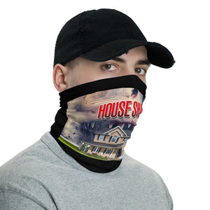 House Shark Wide Release Art Neck Gaiter