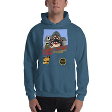 House Shark 8-Bit Hooded Sweatshirt