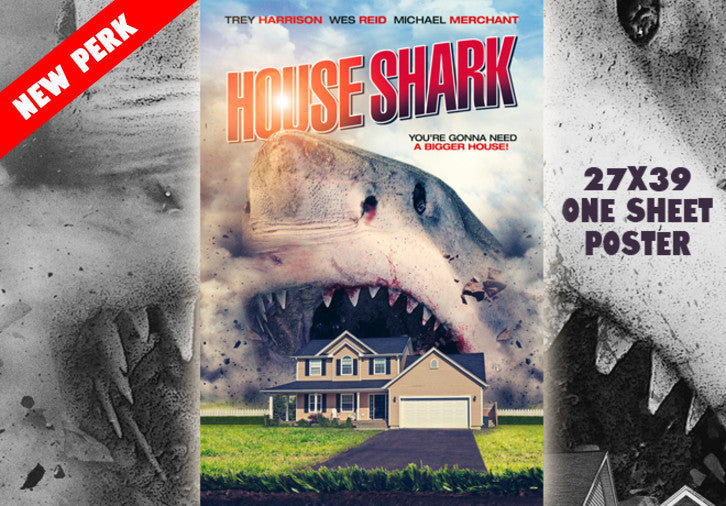 HOUSE SHARK RETAIL ART One Sheet Poster