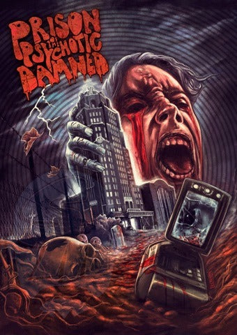 Prison of the Psychotic Damned Bluray