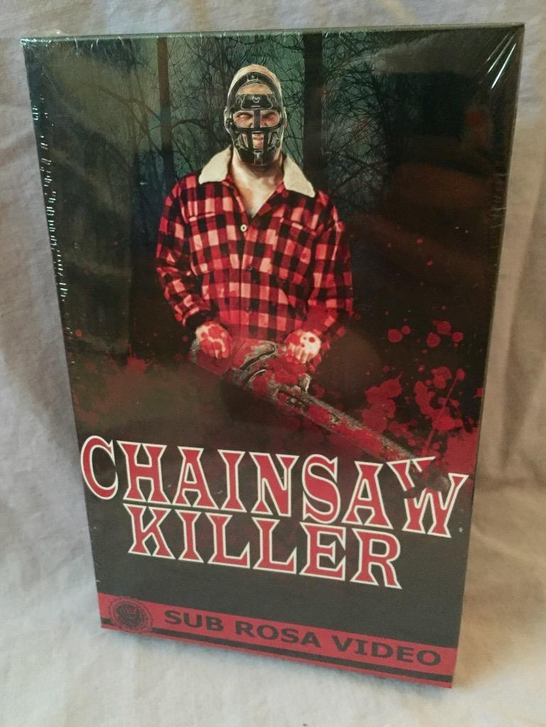 Chainsaw Killer True Big Box VHS