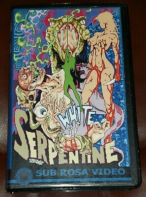 China White Serpentine Clam Shell VHS