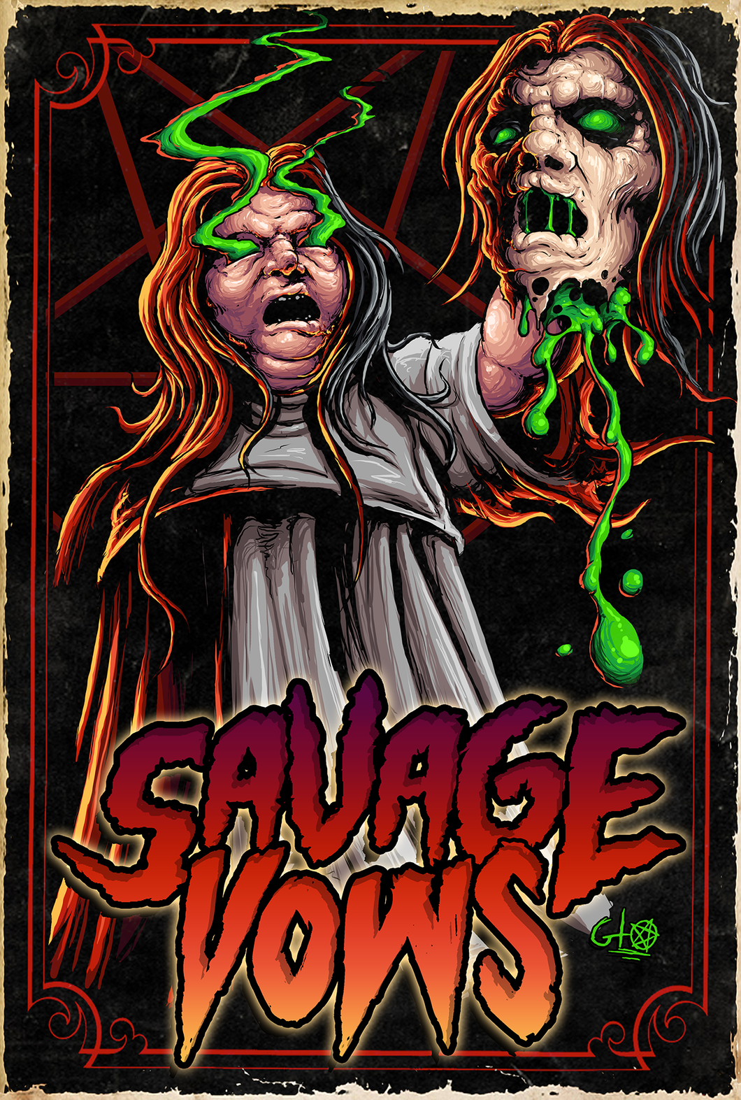 Savage Vows VHS