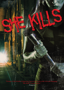 She Kills Exclusive Family video Art Edition DVD