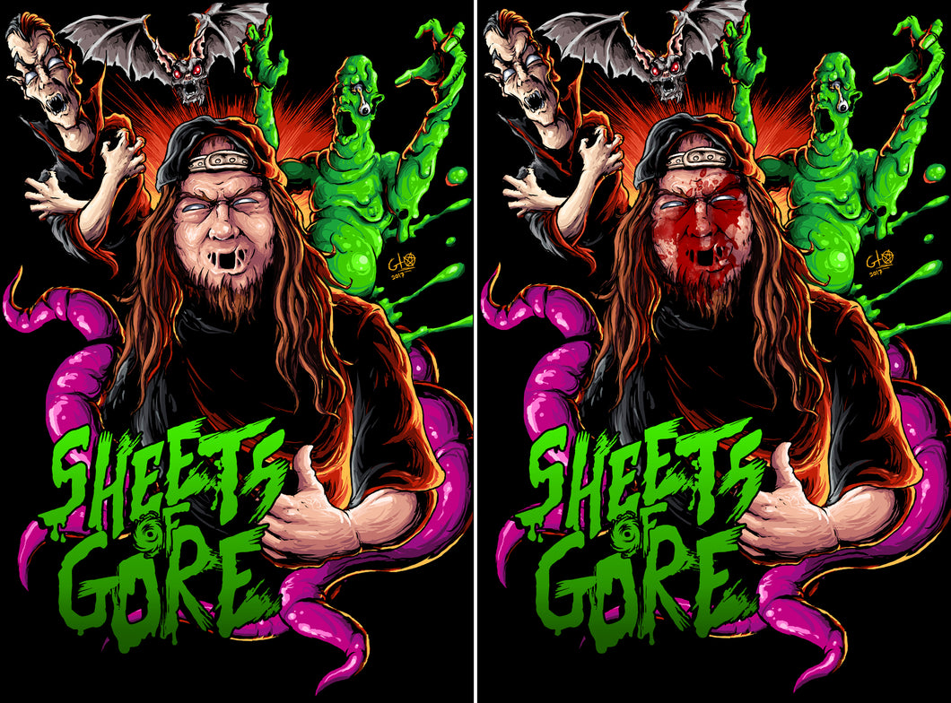 Sheets of Gore VHS Combo Vol 1 & 2