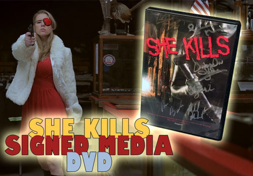 She Kills Signed Retail FV DVD