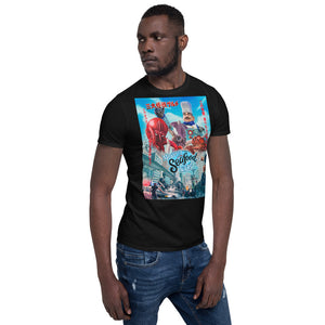 Monster Seafood Wars Motmas Art Short-Sleeve Unisex T-Shirt