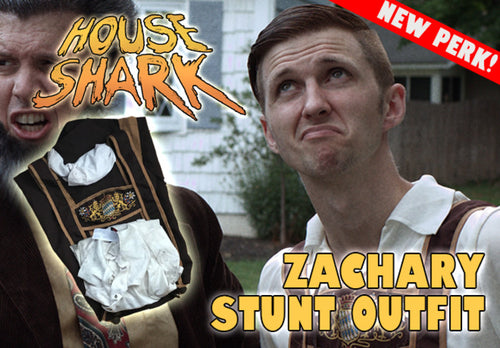 ZACHARY STUNT OUTFIT from HOUSE SHARK