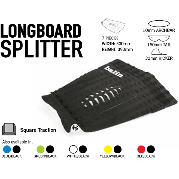 Balin Splitter Longboard Tail Pad