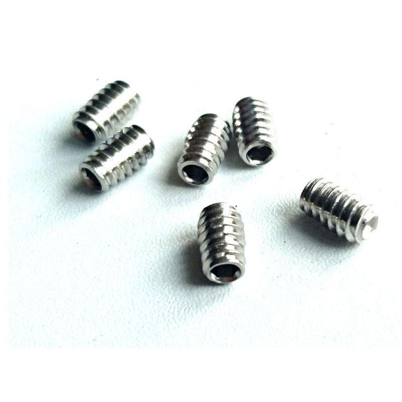 GRUB SCREWS FOR FIN PLUGS - 6PK (SUP & SURF)