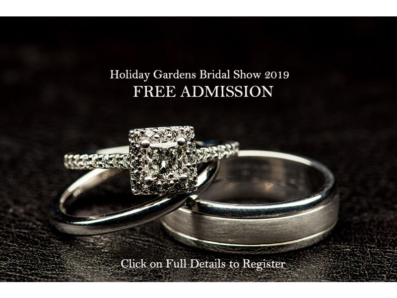 First 100 Brides and Grooms receive FREE admission!