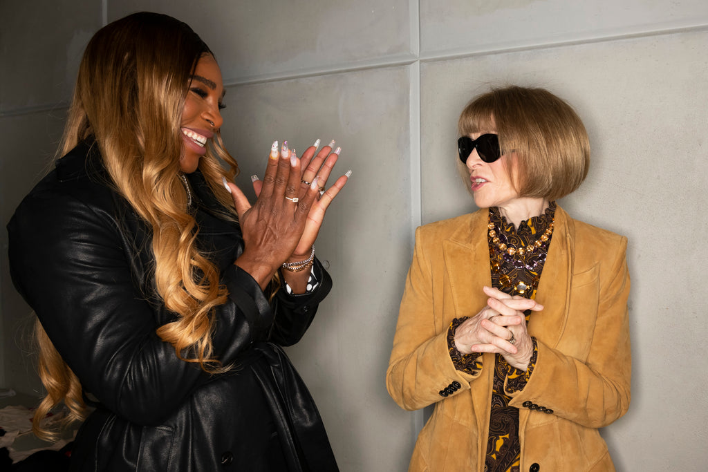 Serena Williams and Anna Wintour NYFW 2019