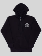 Load image into Gallery viewer, Be Authentic Unisex Zip Hoodie in Black