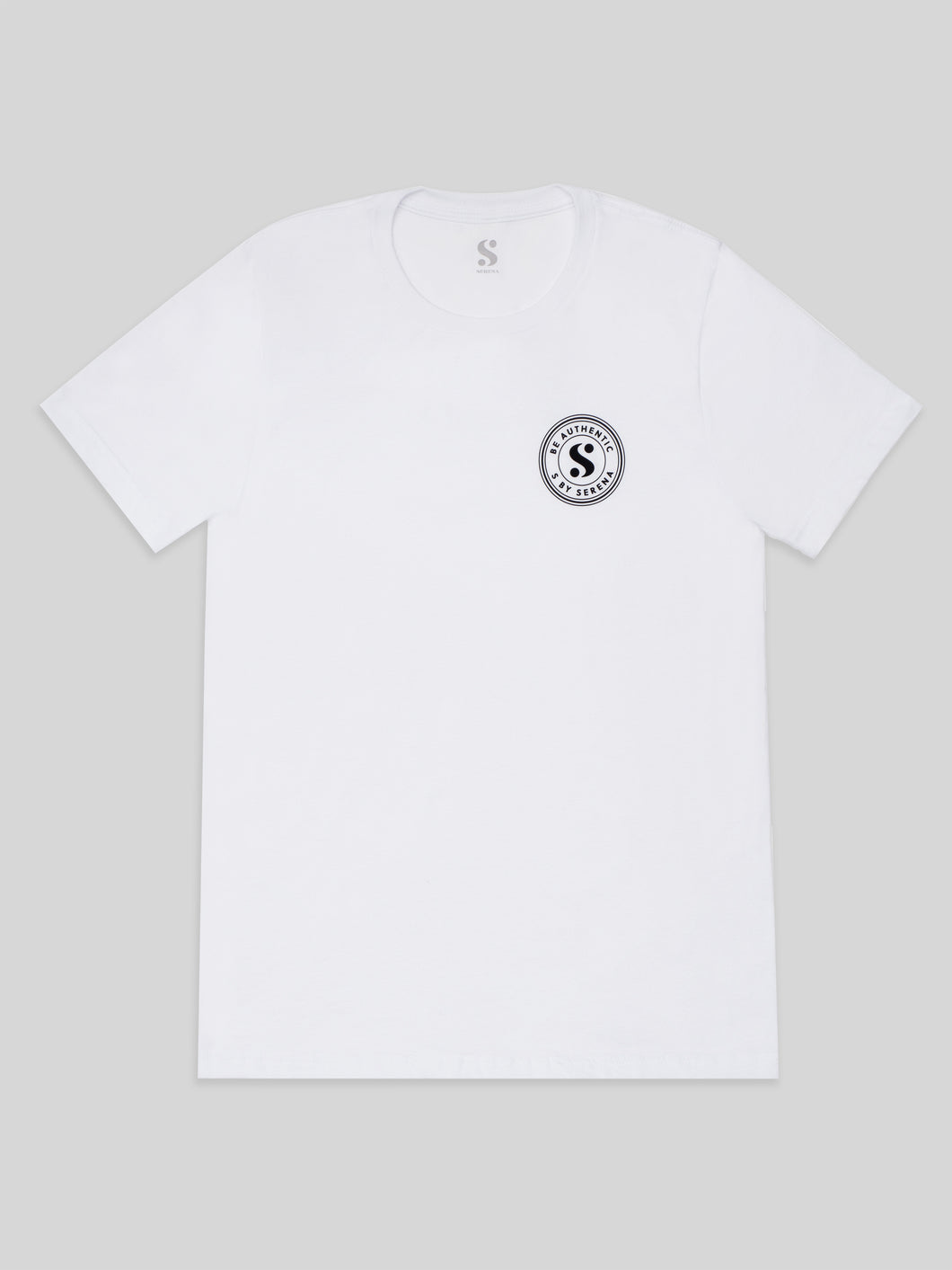 Be Authentic Unisex Tee in White