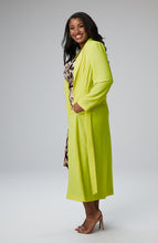 Load image into Gallery viewer, Serena GREAT Giovanna Maxi Coat in Neon
