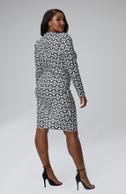 "Load image into Gallery viewer, Serena GREAT Imani Square Neck Icon ""S"" Dress"