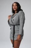 Serena GREAT Kayla Plaid Blazer Dress