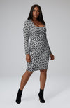 "Imani Square Neck Icon ""S"" Dress"