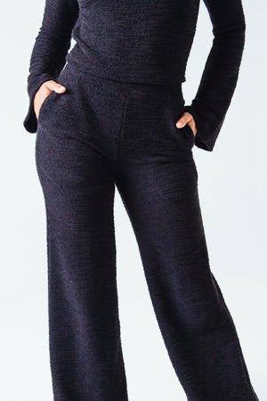 Jolie Textured Knit Trouser