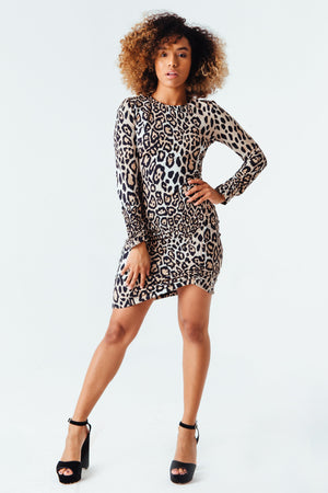 Je Ne Sais Quoi Dress in Leopard