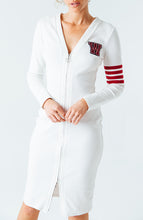 Load image into Gallery viewer, Varsity Zipper Dress