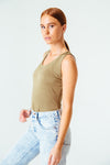 Everywhere Tank Top in Olive
