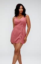 Load image into Gallery viewer, Julia Wrap Mini Dress