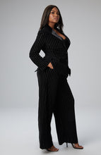 Load image into Gallery viewer, Maya Wide Leg Pant in Burnout Velvet