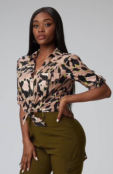 S-By-Serena-Melodie-Utility-Shirt-In-Luxe-Leopard-Front