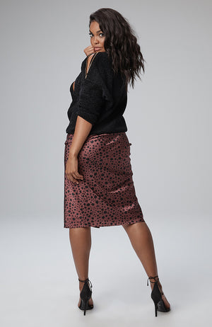 Monica Side Snap Skirt
