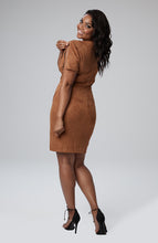 Load image into Gallery viewer, Natasha Zip Sleeve Dress