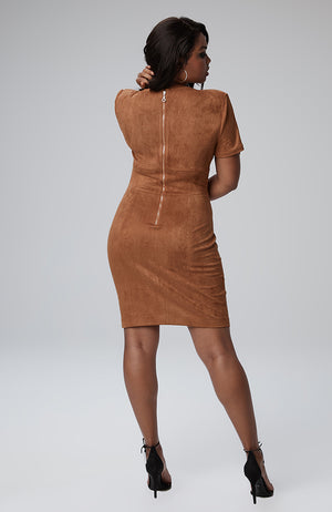 Natasha Zip Sleeve Dress