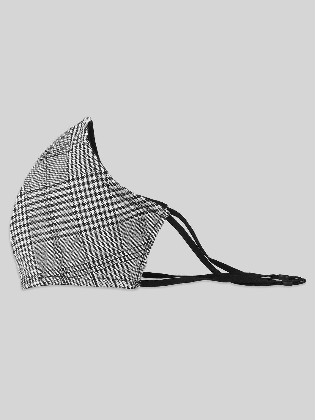 Ashley Plaid Seam Mask