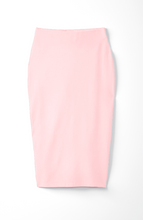 Load image into Gallery viewer, Essential Pencil Skirt in Pink