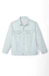 Boyfriend Denim Jacket in Light Wash