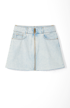 Load image into Gallery viewer, Highline Denim Skirt in Light Wash