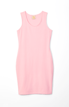 Load image into Gallery viewer, pink racerback mini dress