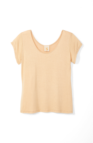 Irresistible Tee in Beige