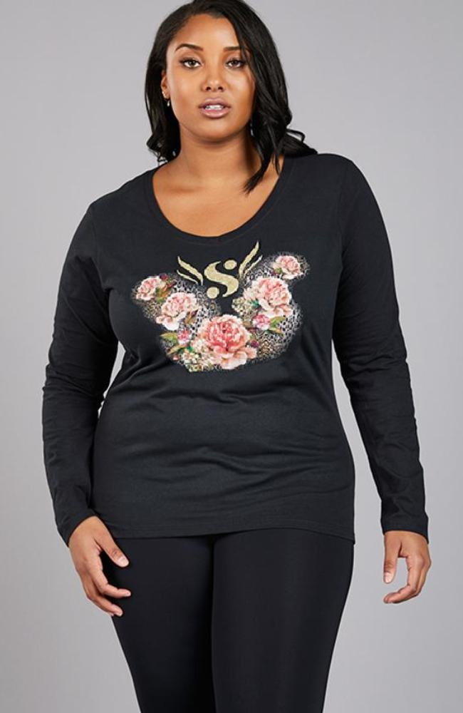 Serena GREAT Floral Tee Shirt